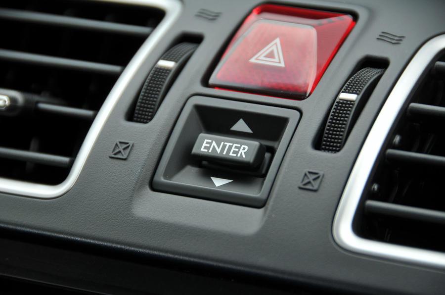 Subaru Forester information display controller