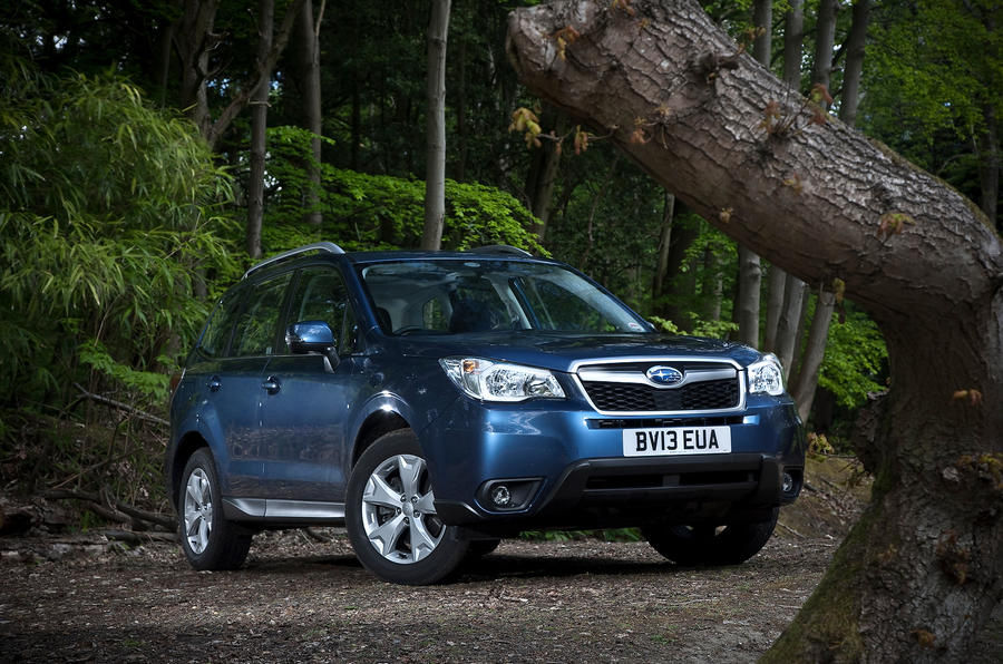 3 star Subaru Forester