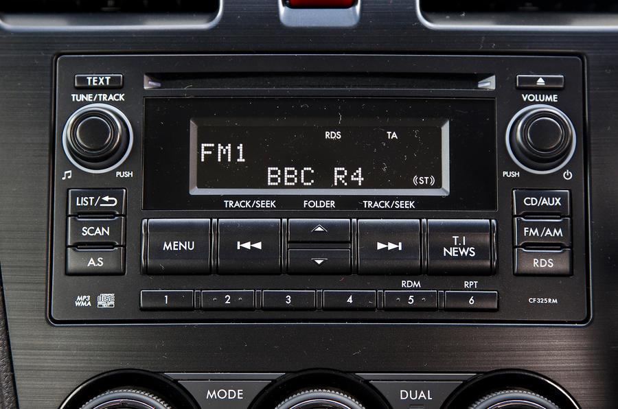Subaru Forester infotainment
