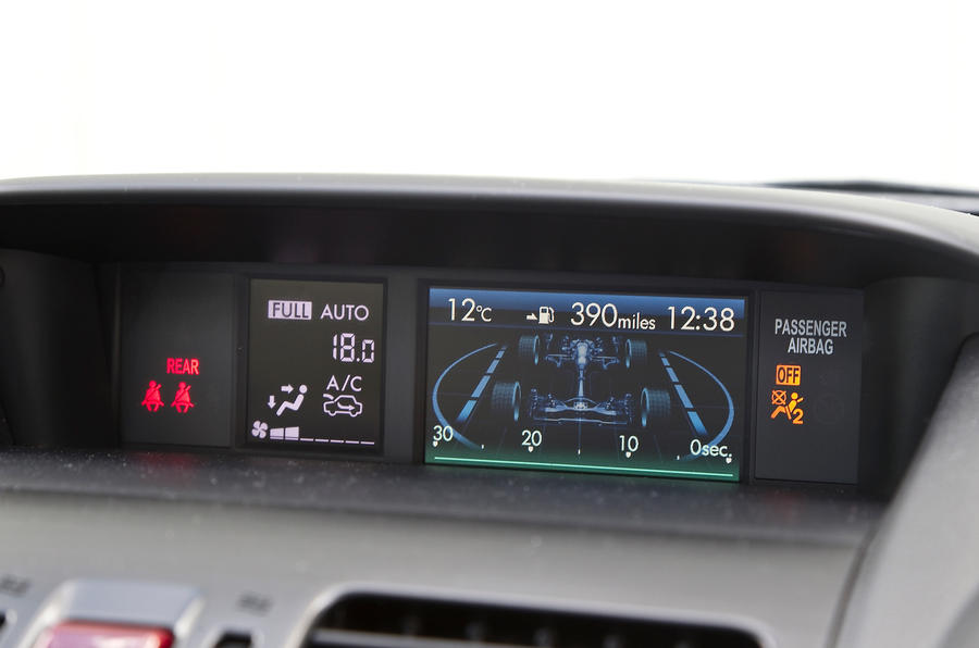 Subaru Forester information system