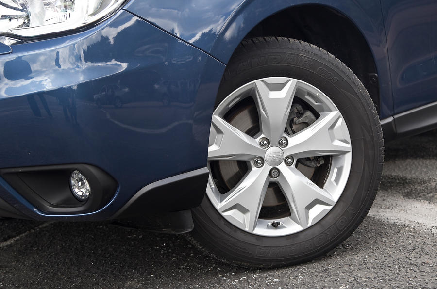 17in Subaru Forester alloy wheels