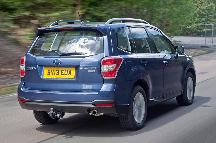 Subaru Forester rear end