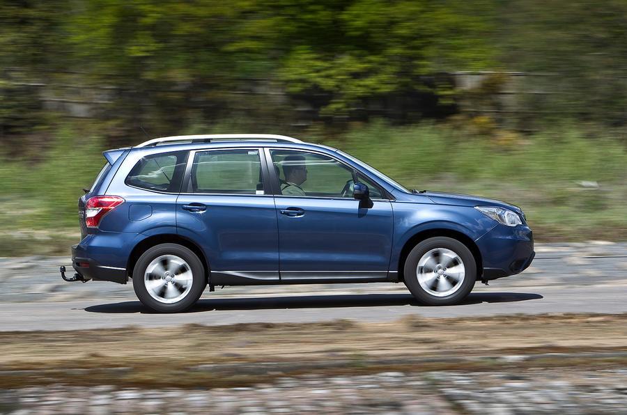 Subaru Forester side profile