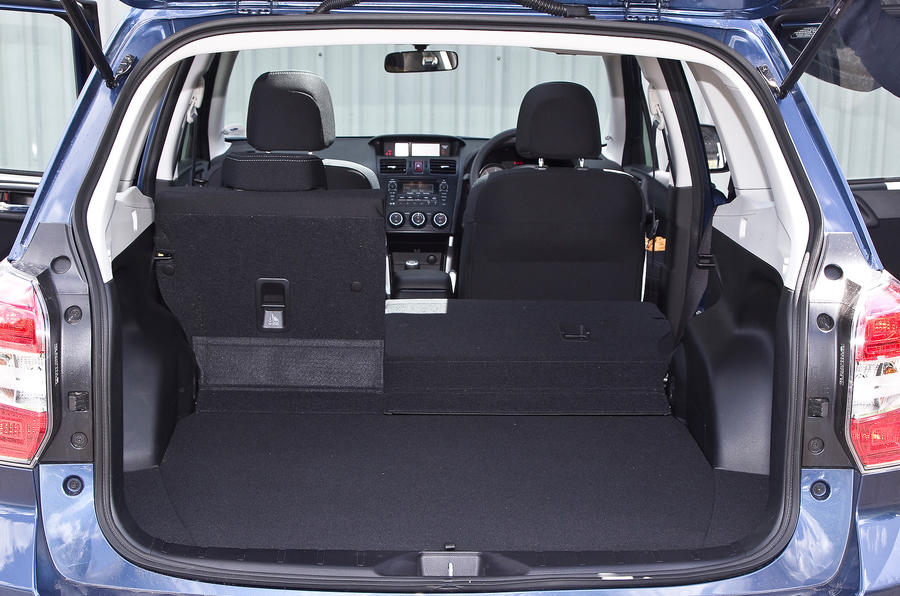 Subaru Forester seat flexibility