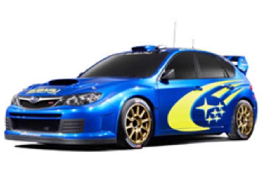 New Impreza STi gets WRC attitude