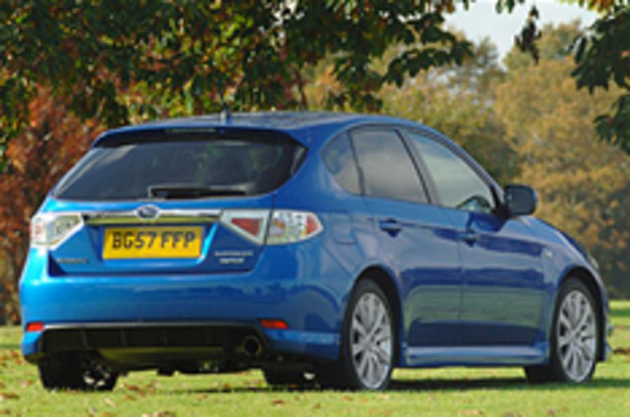 Subaru WRX diesel for Britain