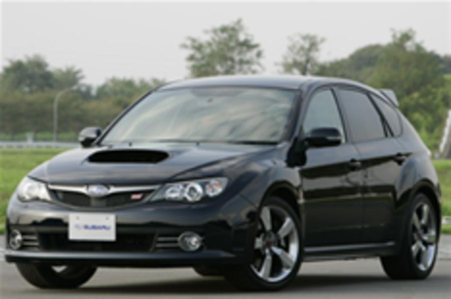 First official pictures of Impreza STi