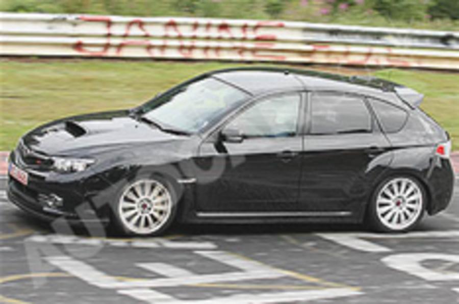 Hotter Subaru Impreza spied