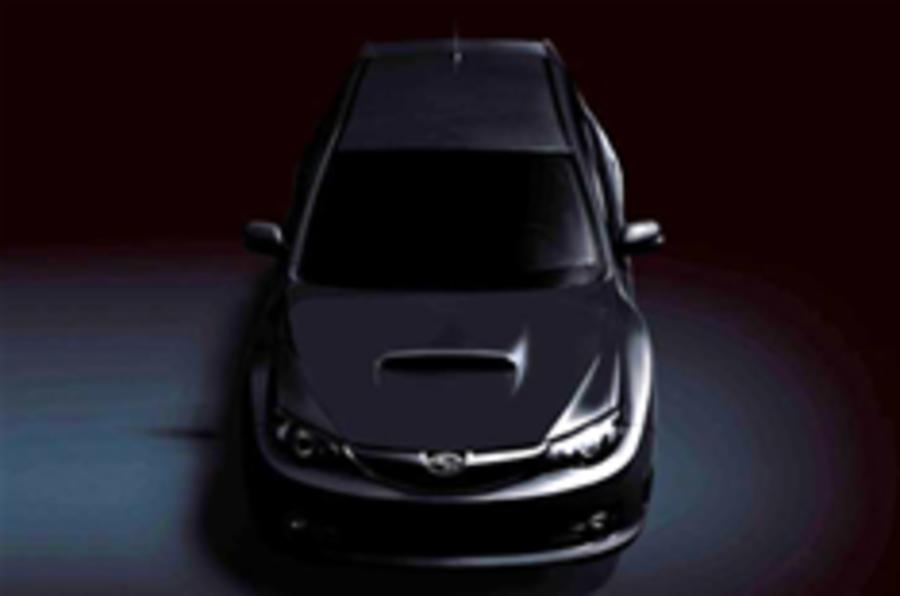 Impreza STi teaser image released