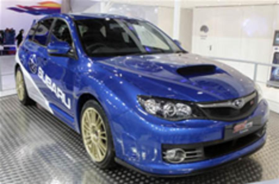 London show: wild new Imprezas