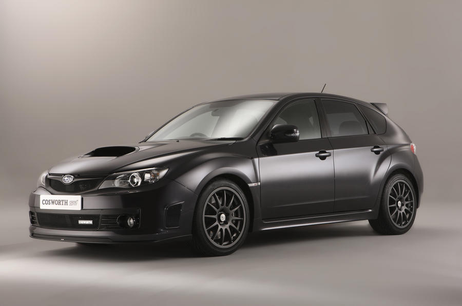 Subaru Impreza Cosworth revealed