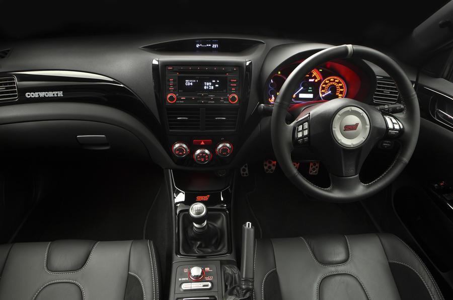 Subaru Impreza Cosworth revealed