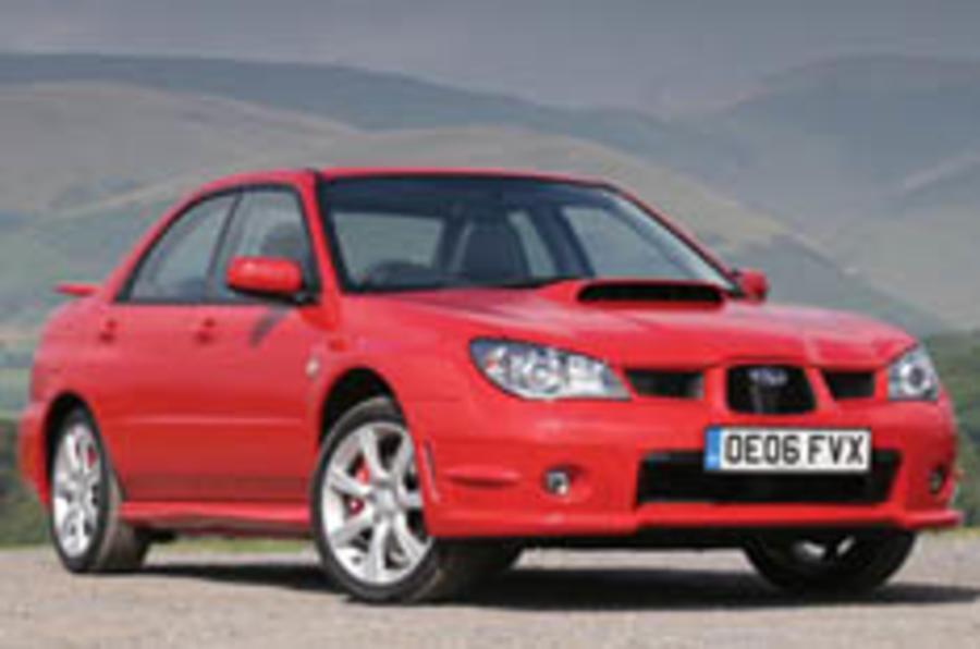 Subaru piles kit on Impreza WRX