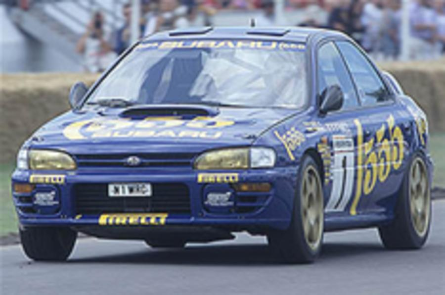 Imprezas gather in McRae's honour