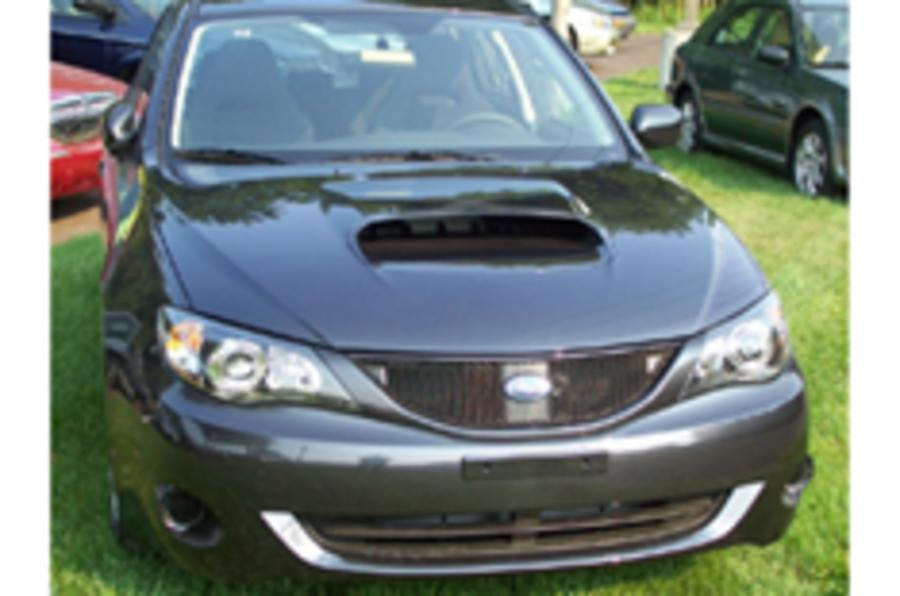 First US Impreza WRX on Ebay