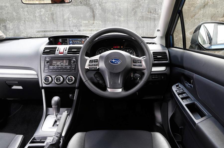 Subaru Impreza dashbaord