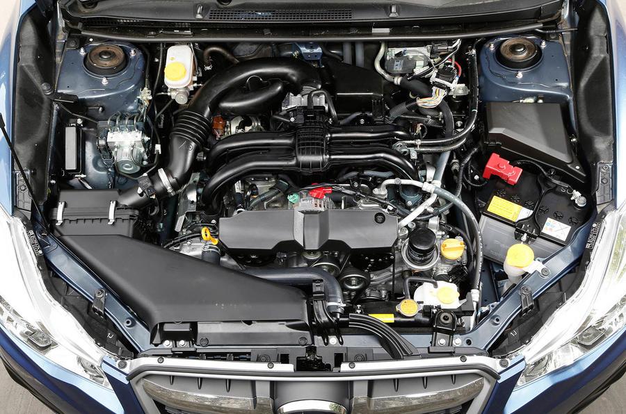 1.6-litre Subaru Impreza petrol engine