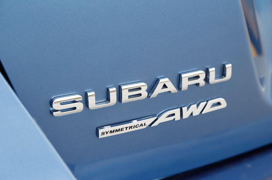 Subaru badging