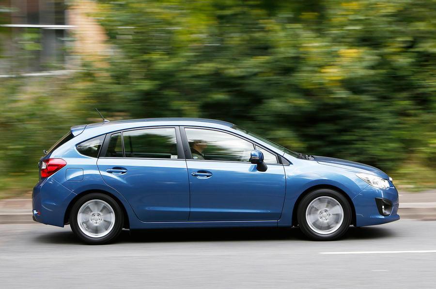 Subaru Impreza side profile