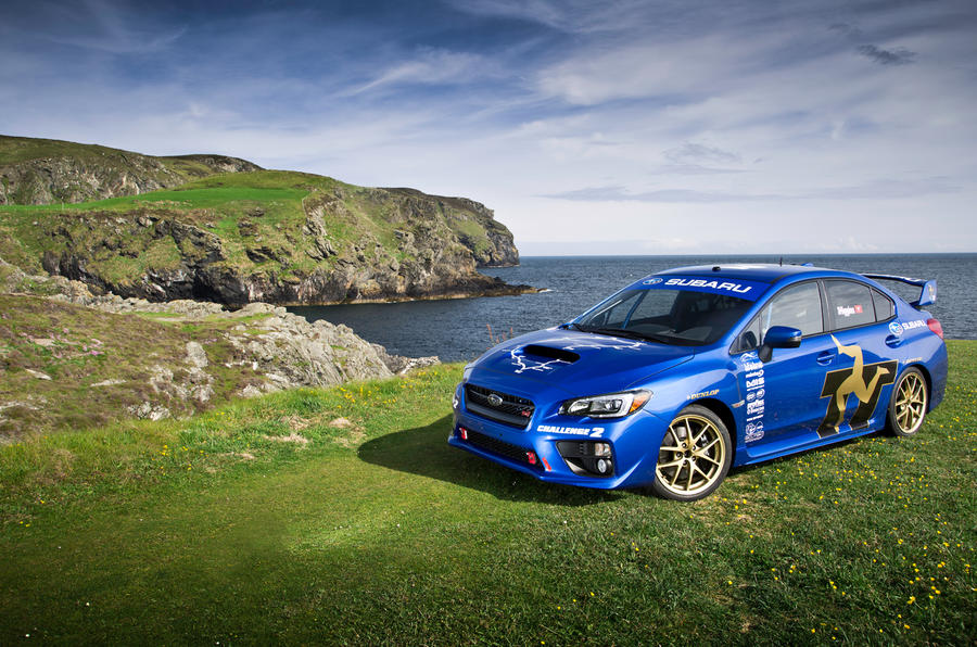 Subaru sets new Isle of Man TT lap record - new pictures