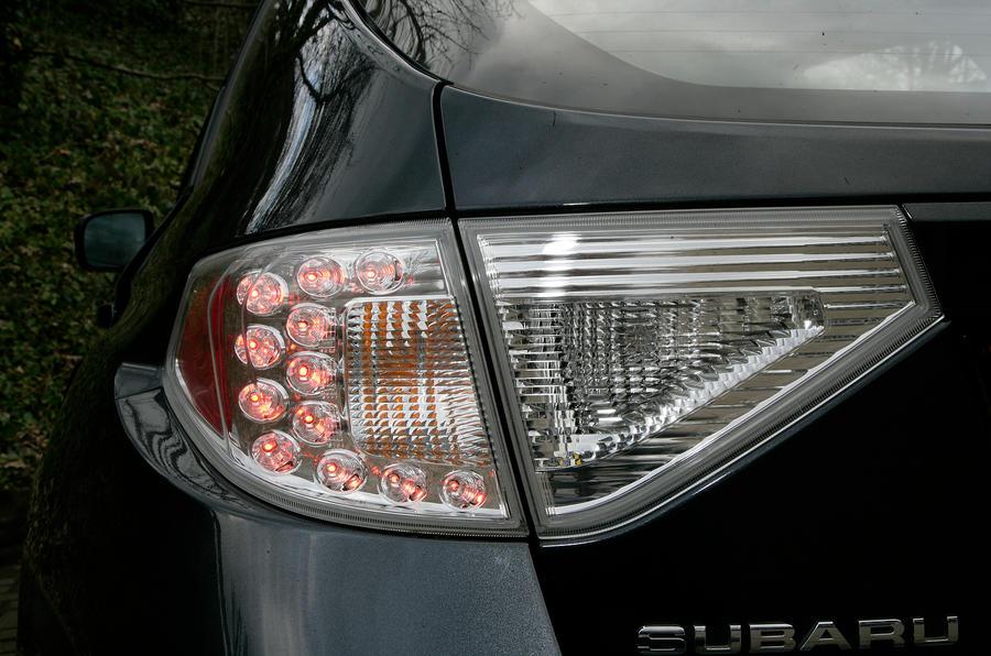 Subaru WRX STI rear lights