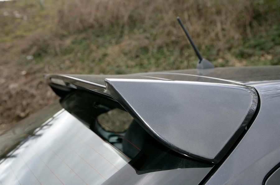 Subaru WRX STI roof spoiler