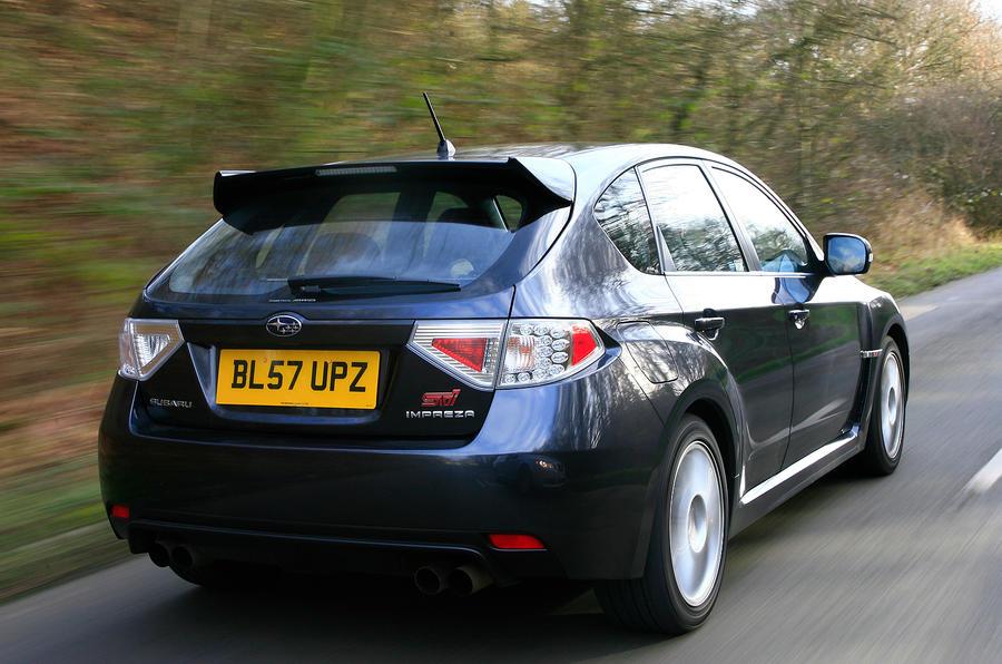 Subaru WRX STI rear quarter