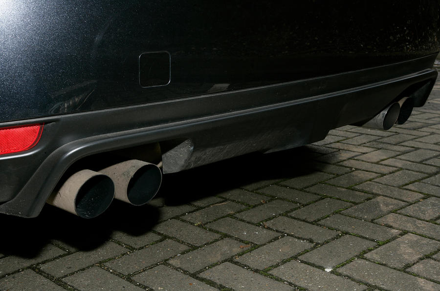 Subaru WRX STI quad exhaust