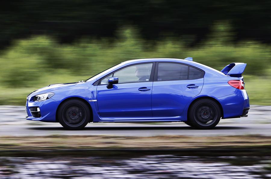 Subaru Impreza WRX STI side profile
