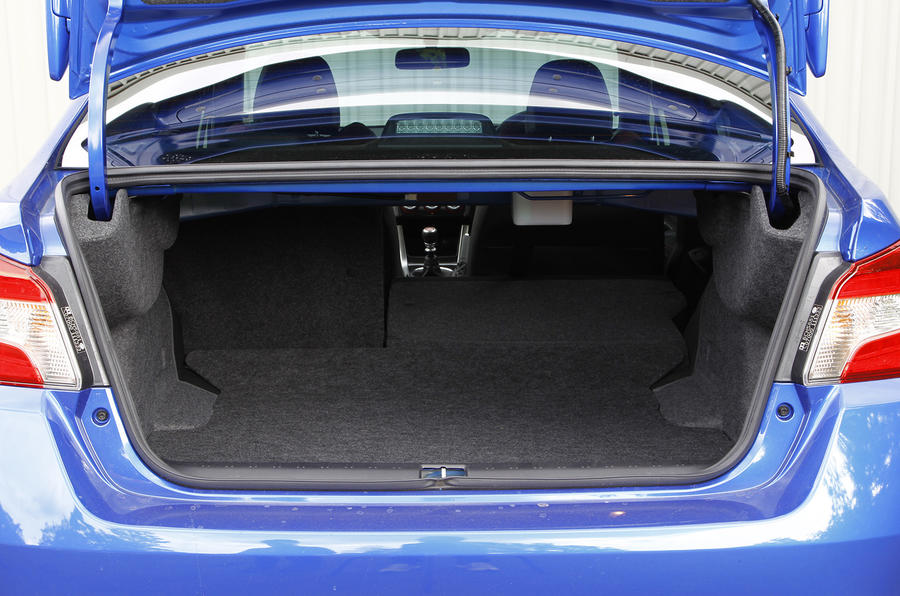 Impreza WRX STI boot space