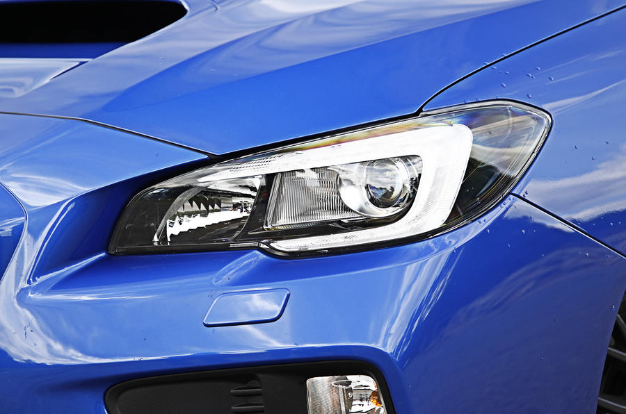 Subaru WRX STI LED headlights