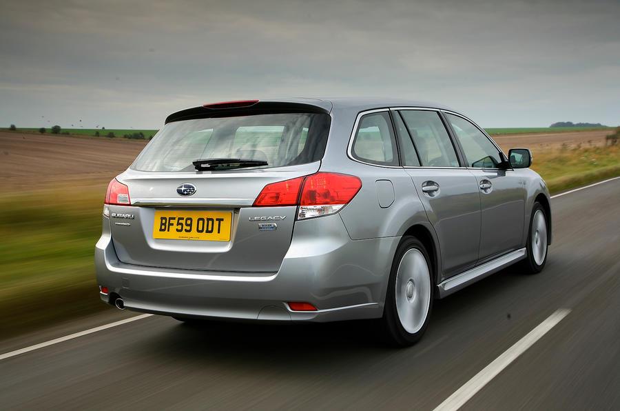 Subaru Legacy rear quarter