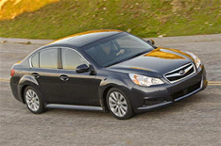 Subaru Legacy breaks cover