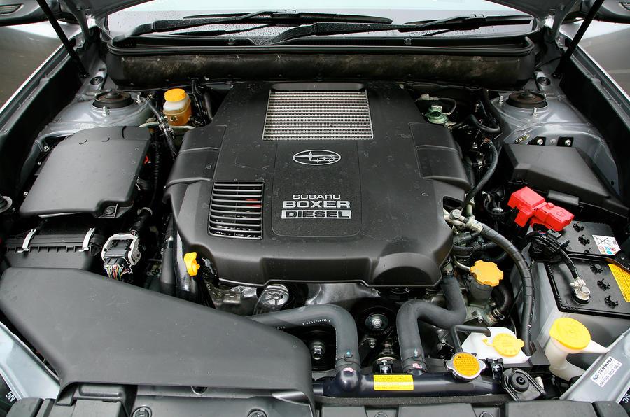 Subaru Legacy diesel engine