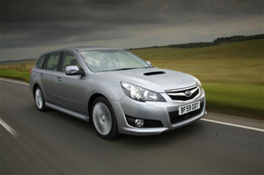 Subaru Legacy's auto-brake tech