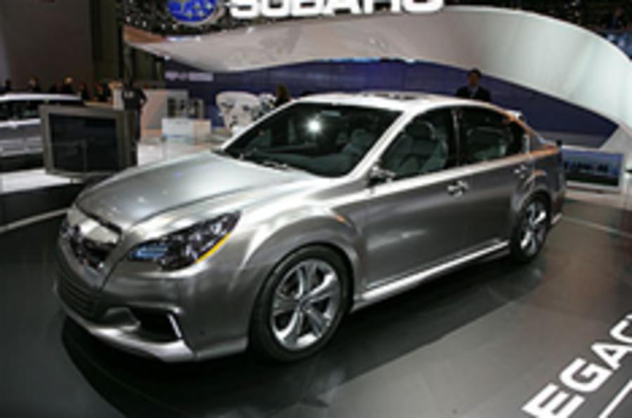 New Subaru Legacy for New York