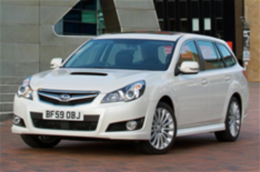 Subaru Legacy Tourer revealed