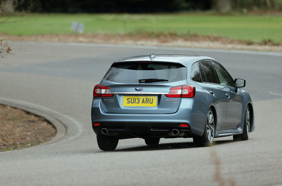 ...but the Subaru Levorg feels grippy and agile