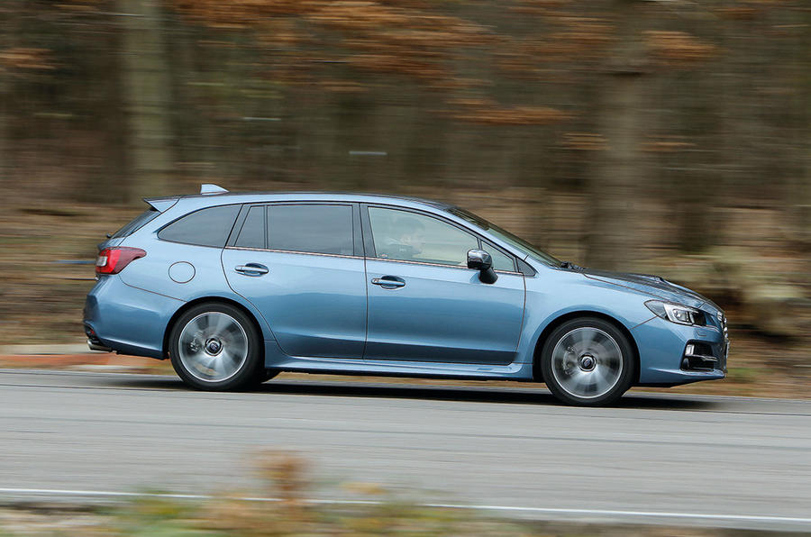 The Subaru Levorg is a secure and stable handling estate