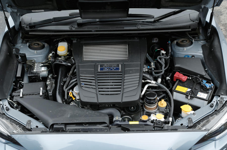 The 1.6-litre turbo engine in the Subaru Levorg