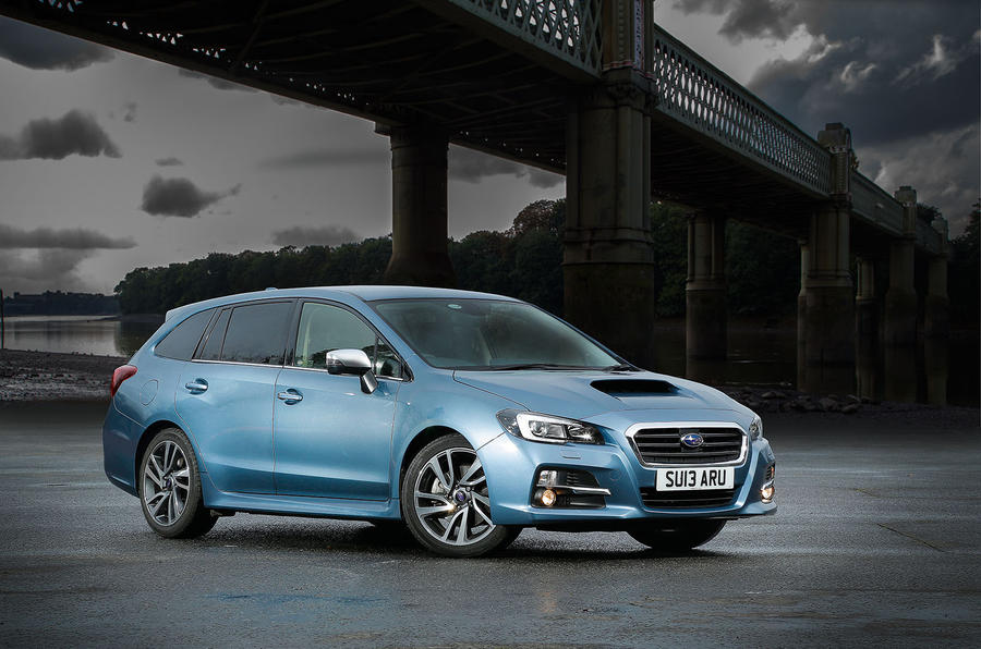 The 3 star Subaru Levorg