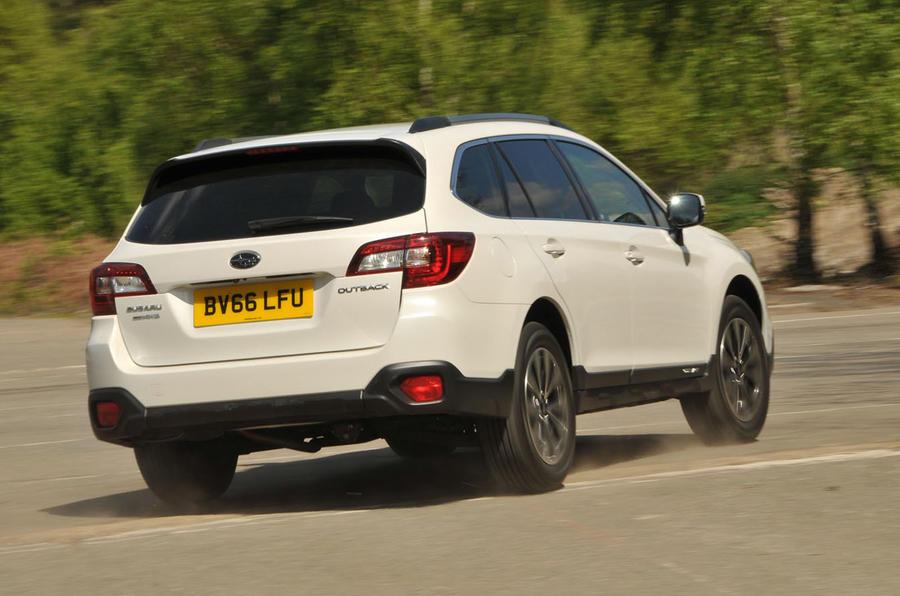 Subaru Outback rear