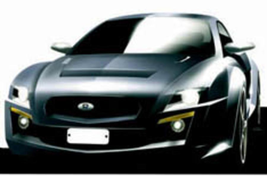 Impreza spawns a sports car