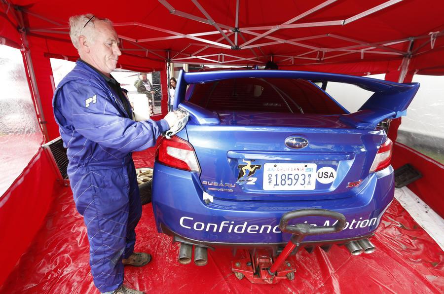 Subaru sets new Isle of Man TT lap record