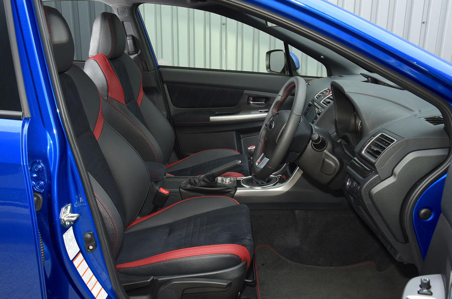 Lovely ... Subaru WRX STI Interior ...