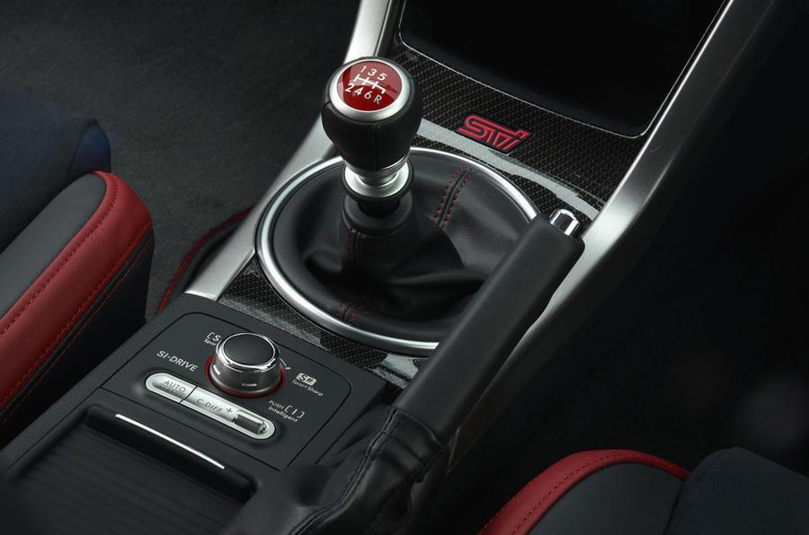 Subaru WRX STI manual gearbox