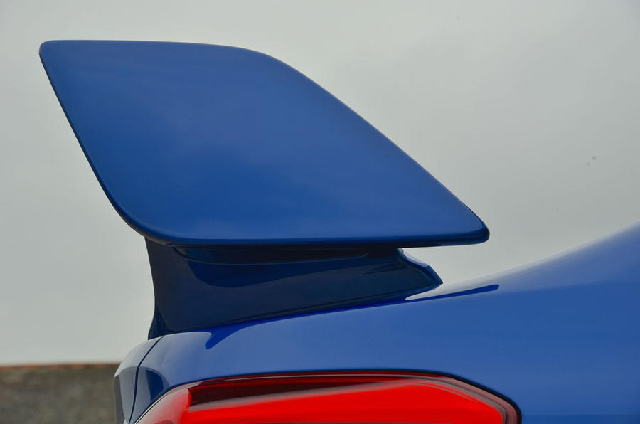 Subaru WRX STI rear wing