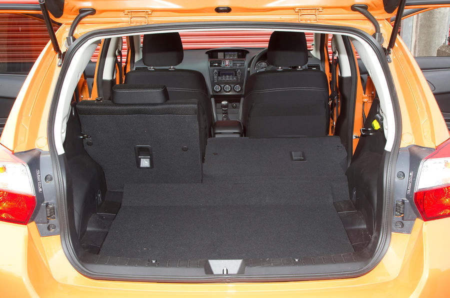 Subaru XV boot space
