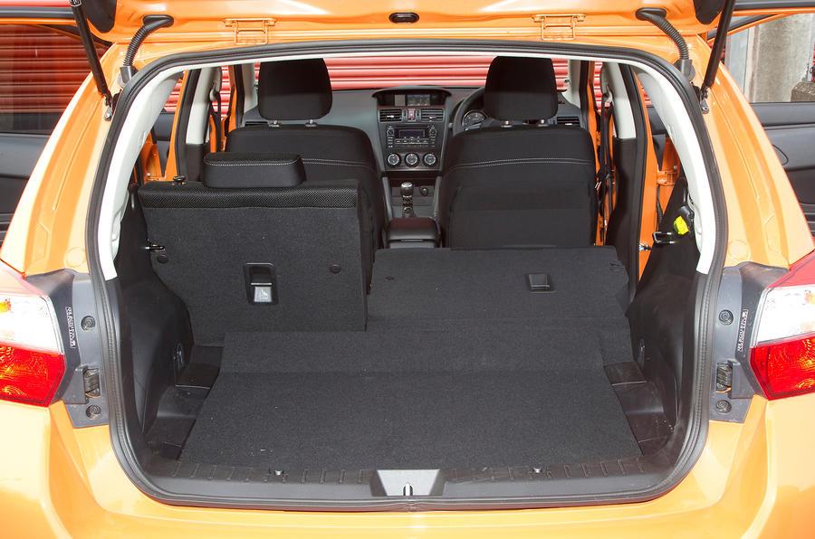 Subaru XV boot space