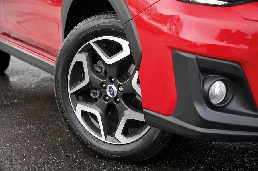 Subaru XV 2.0i Lineartronic SE Premium wheels